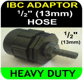 IBC ADAPTER to 13mm Hose Tail HD Connector