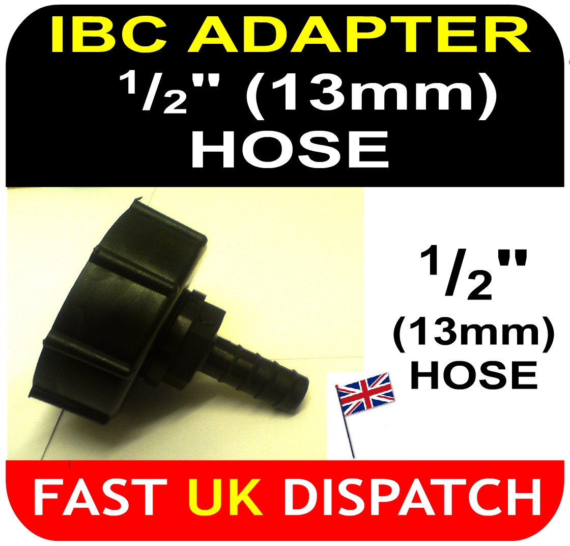 IBC ADAPTER to 13mm Hose Tail Connector
