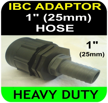IBC ADAPTER to 25mm Hose Tail HD Connector