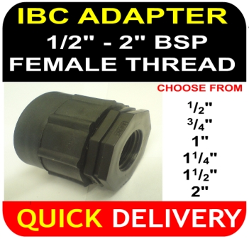 IBC ADAPTER BSP Female Thread Mixture