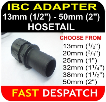 IBC ADAPTER Hosetail connector Mixture