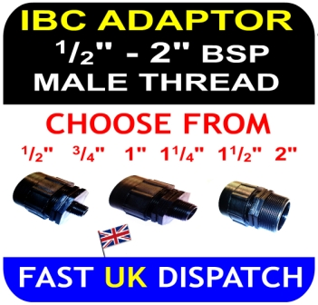 IBC ADAPTER BSP Male Thread Mixture